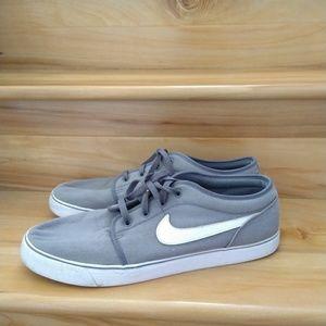 Nike grey men's shoes size 15
